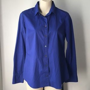 J. Crew Stretch Perfect Casual Button Down Shirt